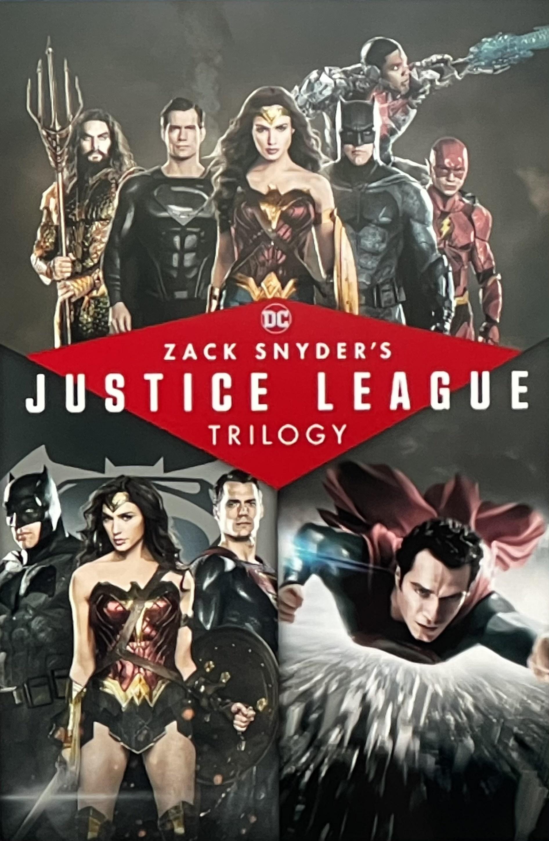 Zack Snyder's Justice League Trilogy 4K @ iTunes - £19.99