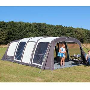 Outdoor Revolution Airedale 6 Pro Climate 6 Berth Air Tent, with Groundsheet £849.99 at leisure outlet