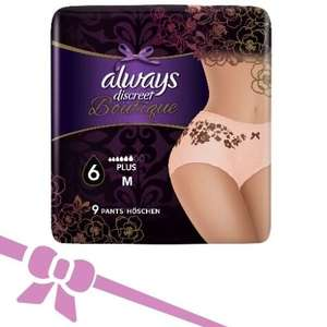 Free Always Discreet Boutique Incontinence pants (size M) free at SuperSavvyMe