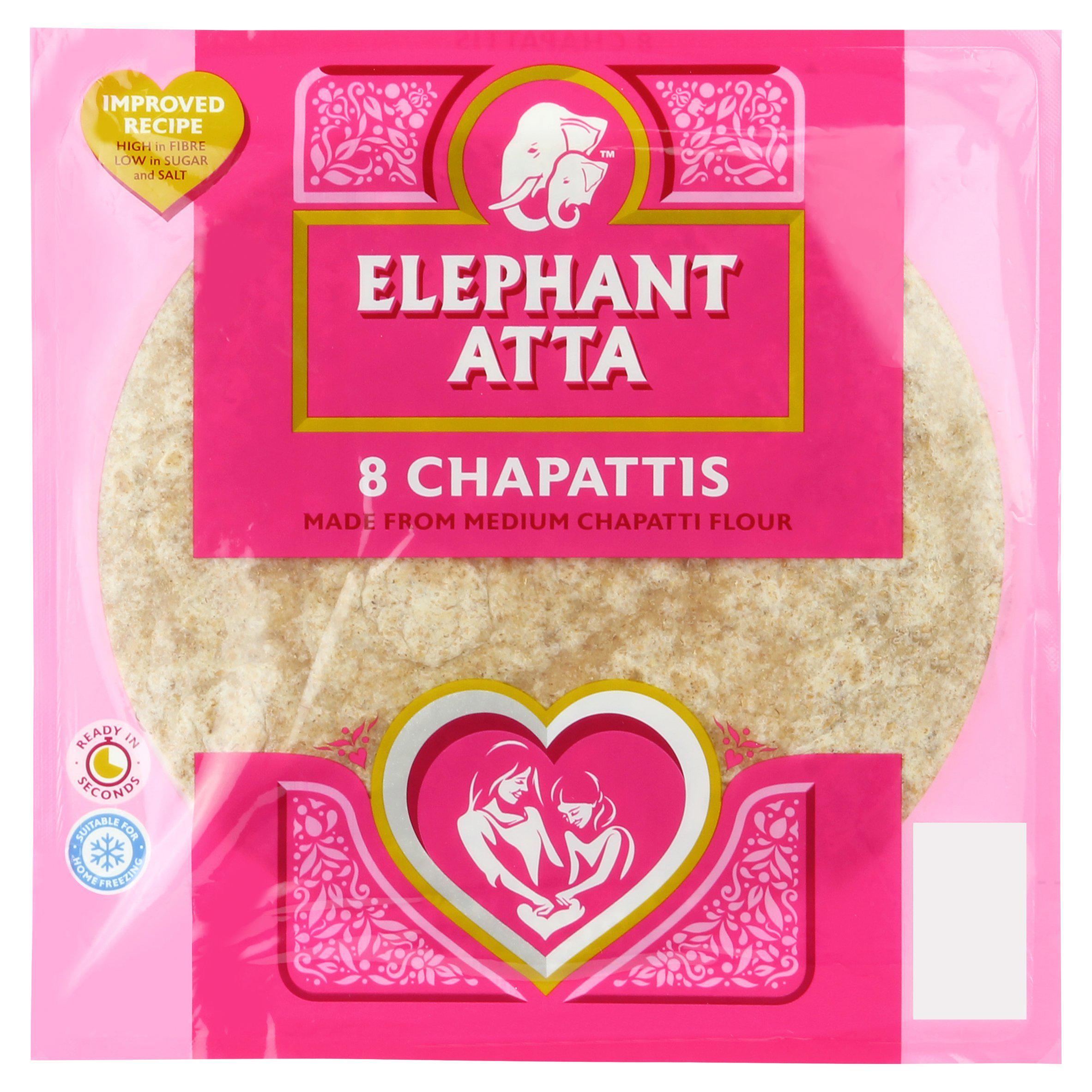 Elephant Atta Chapattis 360g £1 @ Sainsbury's