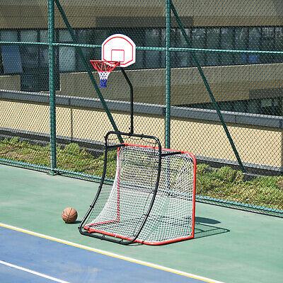 3-In-1 Football Goal Net / Basketball Hoop / Rebounder Goal - £66.59 Delivered Using Code @ eBay / Outsunny