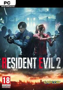 Resident evil 2 / Biohazard Re:2 PC - Steam - £7.79 @ CDKeys