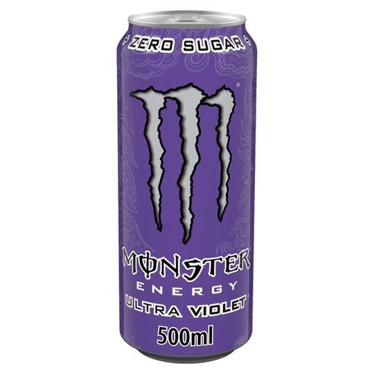 Monster Ultra Violet Energy Drink 500ml 86p at Asda Portsmouth