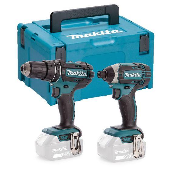 Makita DLX2131 18v Twin Pack DHP482Z Combi Drill Impact Driver DTD152Z + Makpac £139.99 at Buyaparcel