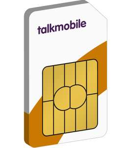 30 Day Sim Only - 12GB Data + Unlimited Mins & Texts - £6.80 For First 3 Months @ TalkMobile