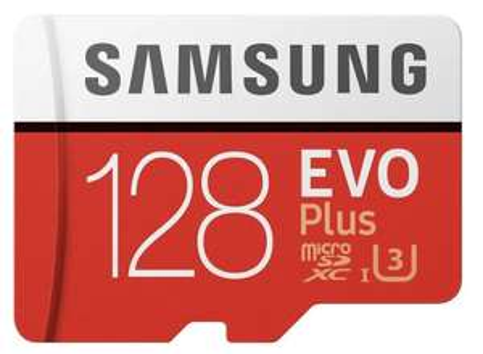 128GB Samsung EVO Plus Micro SDXC UHSI U3 with Adapter 100/60MB/s R/W £11.70 Prime / £16.19 NP (UK Mainland) Sold by Amazon EU @ Amazon