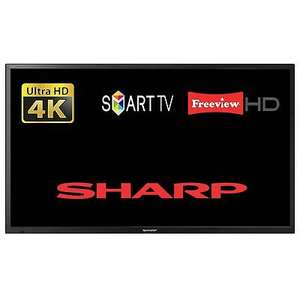 """Sharp LC-55CUG8052K 55"""" Smart LED TV Ultra HD 4K WiFi Unit Only with Power Lead (Refurb) £269 + £14.99 Delivery @ Tesco eBay (UK Mainland)"""