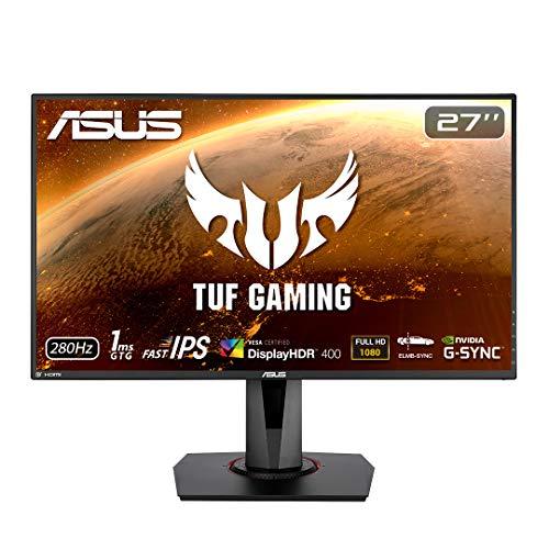 """ASUS TUF Gaming VG279QM HDR Gaming Monitor - 27"""" Full HD, Fast IPS, 280Hz, 1 ms £316.80 @ Amazon"""