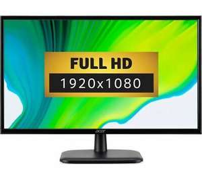 "ACER EK240YAbi Full HD 23.8"" IPS LCD 75Hz Monitor - Black DAMAGED BOX £74.97 at currys_clearance ebay (UK Mainland)"