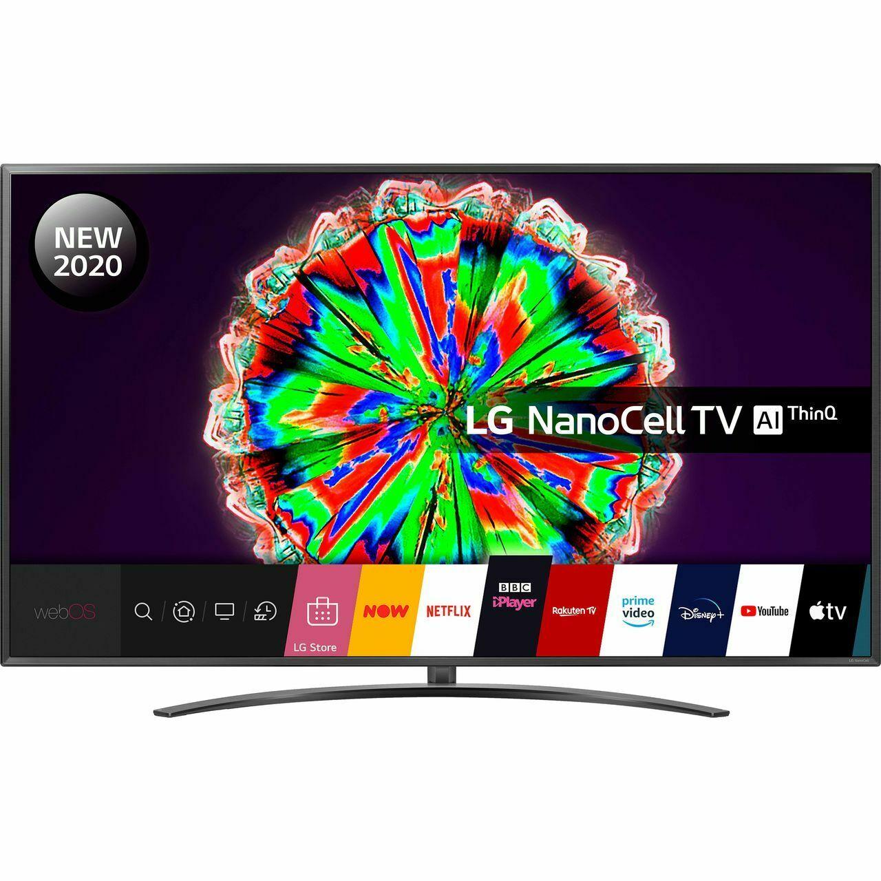 LG 75NANO796NF 75 Inch TV Smart 4K Ultra HD NanoCell Analog & Digital Bluetooth £901.55 (using code) @ AO Ebay