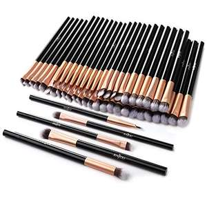 50pcs Eye Makeup Brush 10 X 5 brush set Included in Each Set – £6.49 Prime (+£4.49 NP) Sold by Sunvalleytek-UK and Fulfilled by Amazon