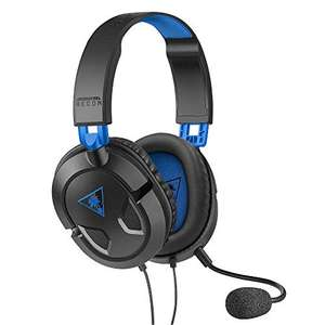Turtle Beach Recon 50P Gaming Headset - PS4, PS5, Nintendo Switch, Xbox One & PC £14.99 Prime (+£4.49 NP) @ Amazon