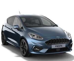 24 Mth Lease - Ford Fiesta 1.0 EcoBoost Hybrid MHEV 155 ST-Line X 5dr = 5k miles p/a - £584 initial + £195pm = £5059 @ Whatcar (Sandicliffe)