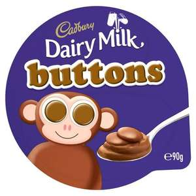 Cadbury Dairy Milk Buttons Chocolate Dessert 85g 47p @ Sainsbury's