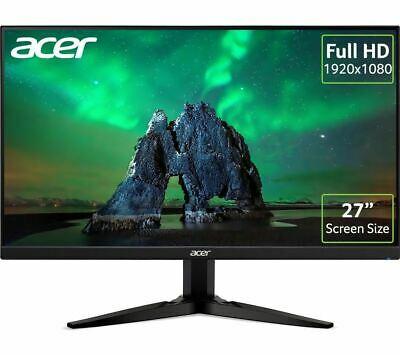"ACER KG271G Full HD 27"" IPS LED Monitor (Opened/Not used) - Black £118.06 using code (UK Mainland) @ Currys_Clearance Ebay"