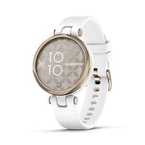 Garmin Lily Smartwatch Sport Edition - Cream Gold Bezel with White Case and Silione Band £148.99 @ Amazon
