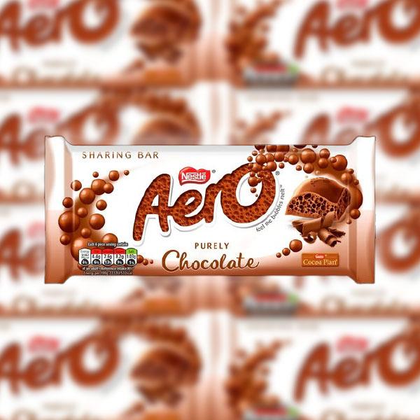 15 x Nestle Aero Sharing Bars (90g) - Milk, Mint or Caramel (Best Before End December 2021) £10 delivered @ Yankee Bundles