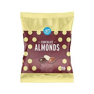 Amazon Brand - Happy Belly Chocolate Almonds 130g x 6 £6.27 Prime (+£4.49 NP) @ Amazon