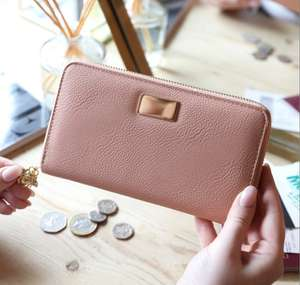 Blush Pink Bee Charm Wallet - £3.90 (Delivery is £3 or Free With £15 Spend) @ Lisa Angel