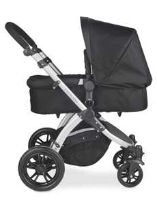 Ickle bubba Silver & Black Travel System 3-in-1 £199.95 (+£9.95 delivery) @ Aldi