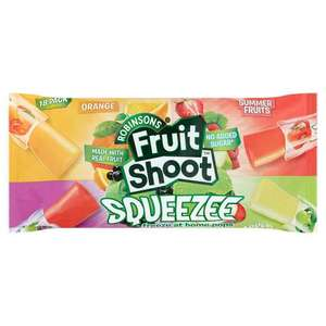 Robinsons Fruit Shoot Squeezee Freeze Pops 18pk (540ml) £1 @ Iceland