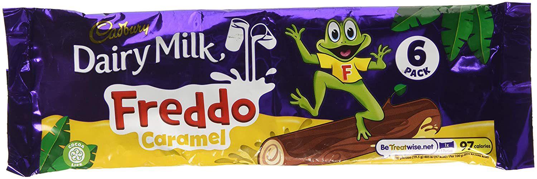 Cadbury Dairy Milk Freddo Chocolate Caramel Bar, 117g £1 (+£4.49 p&p non prime) @ Amazon