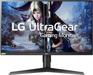 "LG 27GL850-B 27"" Quad HD 27"" Nano IPS 144Hz 1ms FreeSync/G-Sync Compatible Gaming Monitor, £322.05 with code at Currys on ebay"