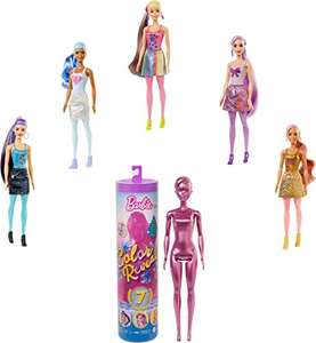 Barbie GTR93 Color Reveal Shimmer Doll £16 prime / £20.49 nonPrime at Amazon