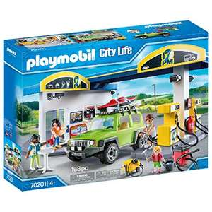 Playmobil 70201 City Life Vehicle World Petrol Station with Car and Shop £43.19 @ Amazon