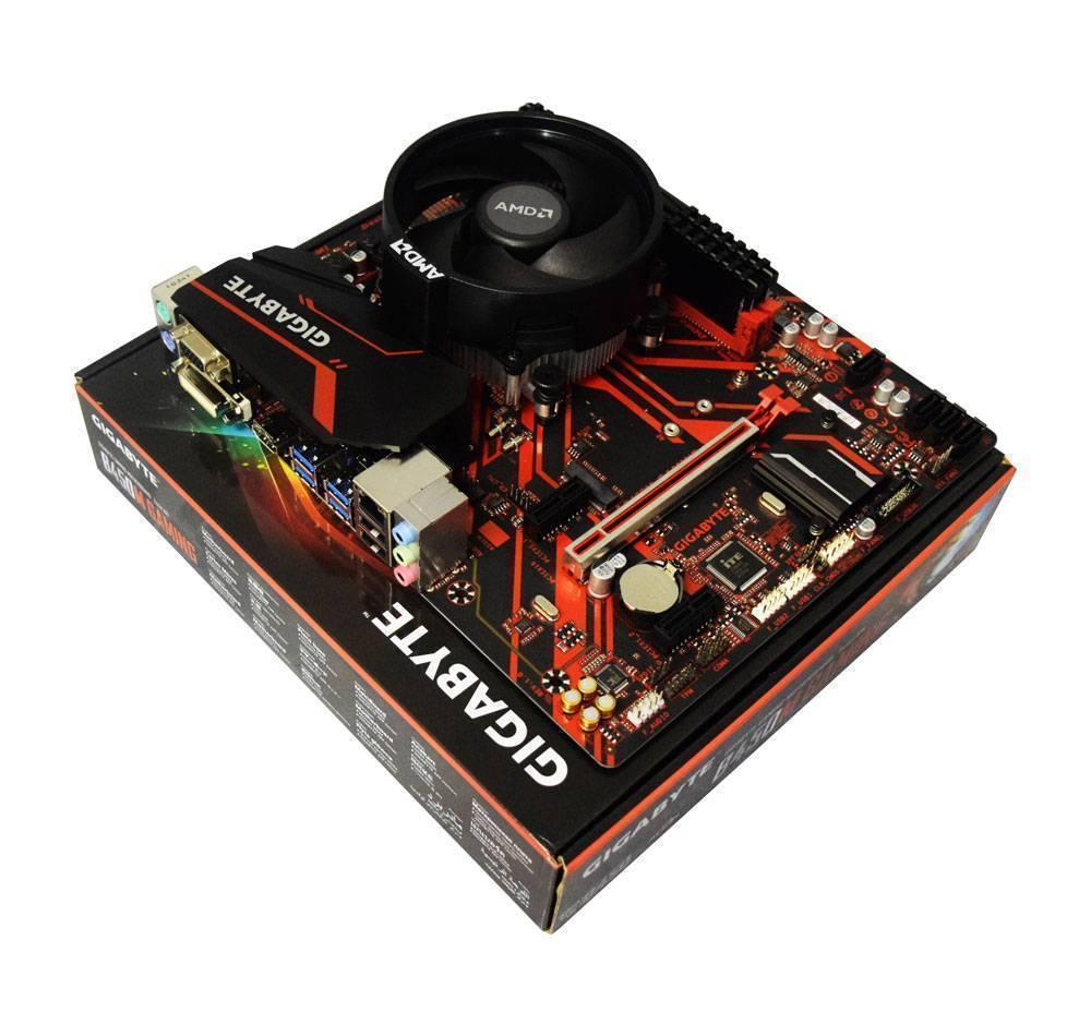 AMD Ryzen 3 3200G Quad Core 4.0GHz, Gigabyte B450M Gaming Motherboard CPU Bundle £149.99 at AWD-IT