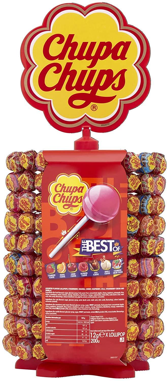 Chupa Chups 200 Lollipops - £20.89 - sold by Amazon