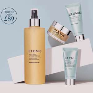 ELEMIS free bundle worth £89 with code when purchasing a full size bestseller at Elemis