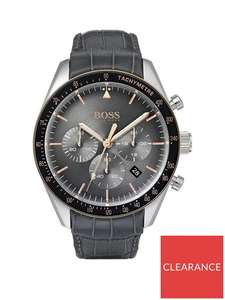 BOSS Trophy Grey Chronograph Men's Watch QXYEN29 - £148.05 at VERY - free Click & Collect / £3.99 delivery