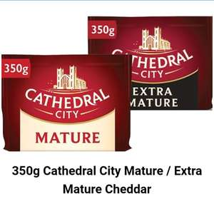 Cathedral City Cheese 350g - £1.49 Farmfoods