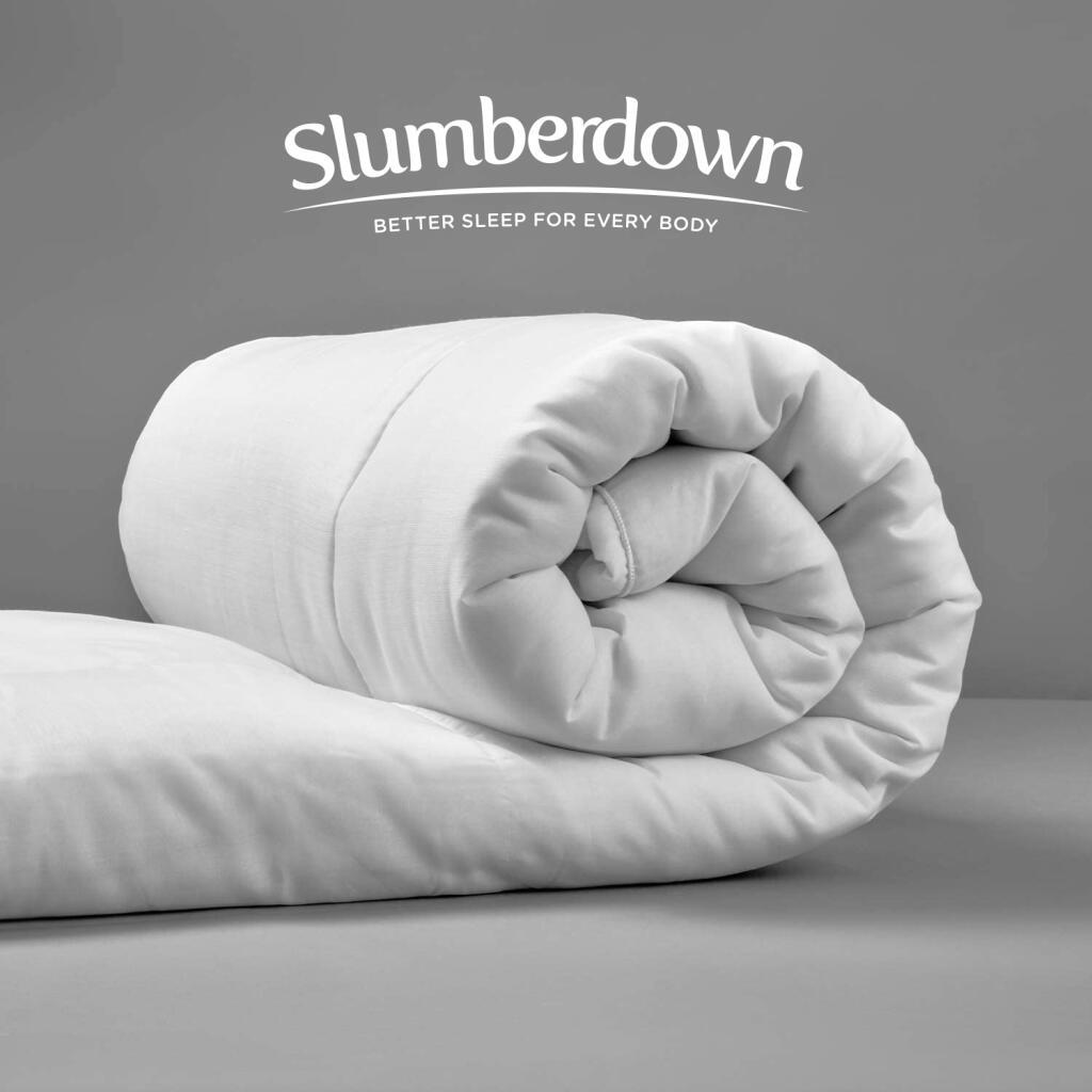 Slumberdown Hollowfibre Duvets From £7.99 - EG: 4.5 Tog Single £7.99 / 4.5 Tog Double £9.99 / 10.5 Tog King £11.99 Delivered @ Sleepseeker