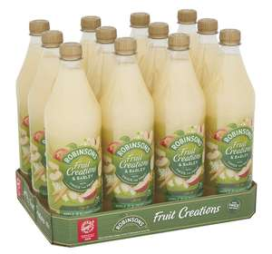 Robinsons Fruit Creations x 12 Various Flavours £18 (+£4.49 non Prime) (15% S&S + 20% off First Orders) £11.70 Amazon