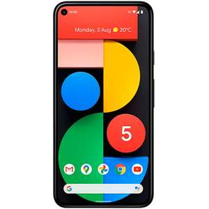 Google Pixel 5 5G 128GB Black £17/30months or £510 total at Voxi