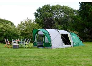 Coleman Pinto Mountain 5 Person Plus Family Tent with Blackout Bedrooms now £319.99 @ Costco