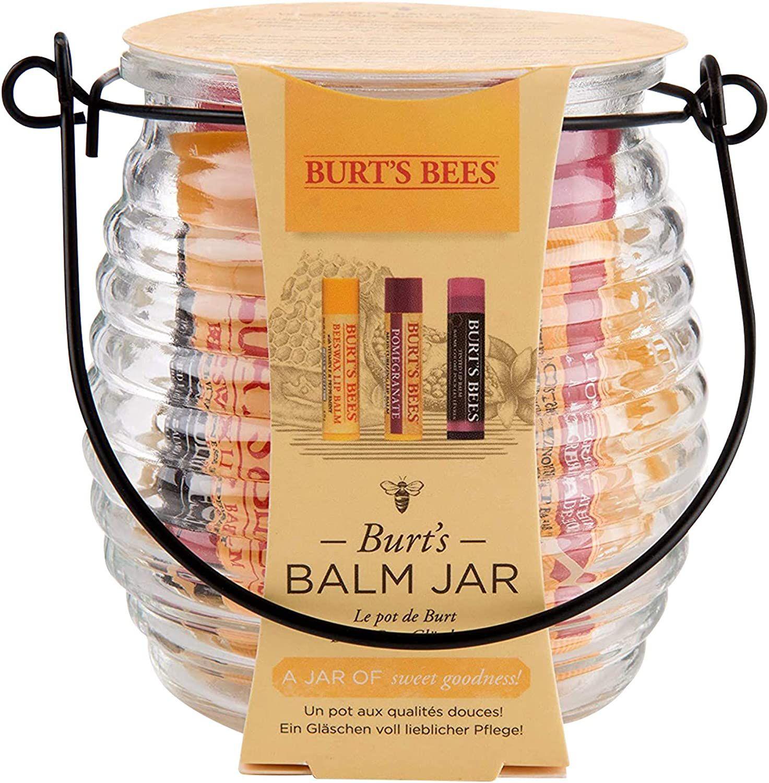 Burt's Bees Balm Jar Moisturising Gift Set £9.99 Prime (£4.49 p&p non prime) 25% voucher and 10% s&s £6.49 @ Amazon
