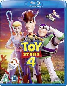 Toy Story 4 (Blu-ray) £3 (+£1.95 delivery) at CEX instore/online