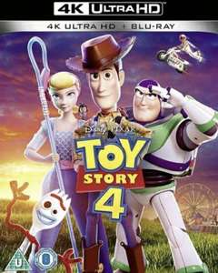 Toy Story 4 (4K+Blu-ray) - £6 at CEX instore/online