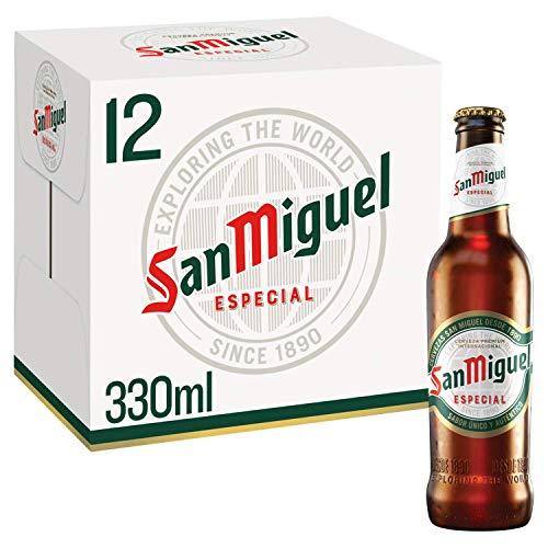 San Miguel Premium Lager, 12 x 330ml - £6.99 (+ £4.49 Non Prime) @ Amazon