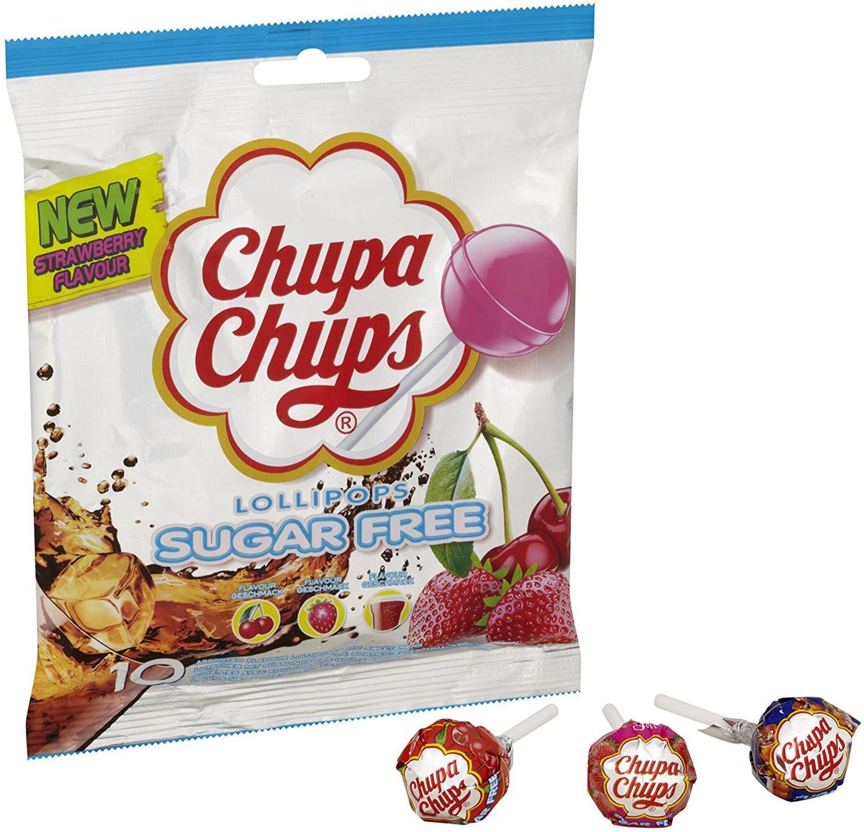 120 sugar free Chupa Chups Fruity Lollipops Multipack Sharing Bag (Pack of 120) £9.58(£4.49 p&p np) £9.27/£10.35 s&s @ Amazon