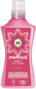 Method Fabric Softener, Pink Freesia, 45 washes £3.40 (£3.06 S.S, Free prime delivery, £4.95 NP) Amazon