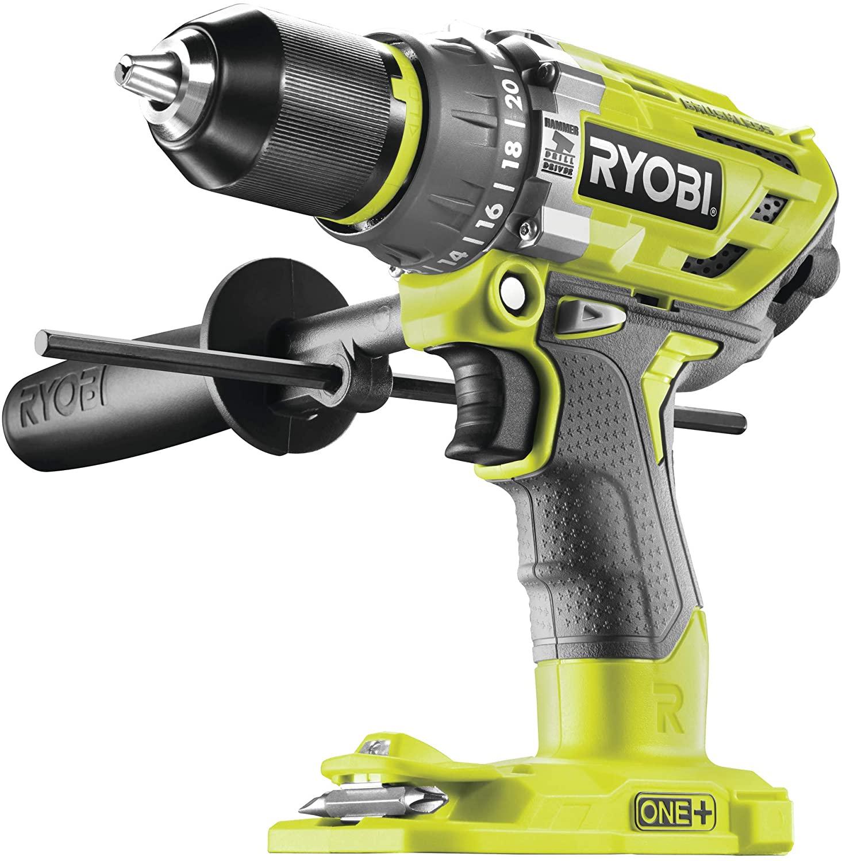 Ryobi R18PD7-0 Brushless Percussion Drill, 18 V, Hyper Green £83.80 at Amazon