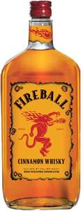 Fireball Cinnamon Whisky Liqueur 1L only £20 at Amazon