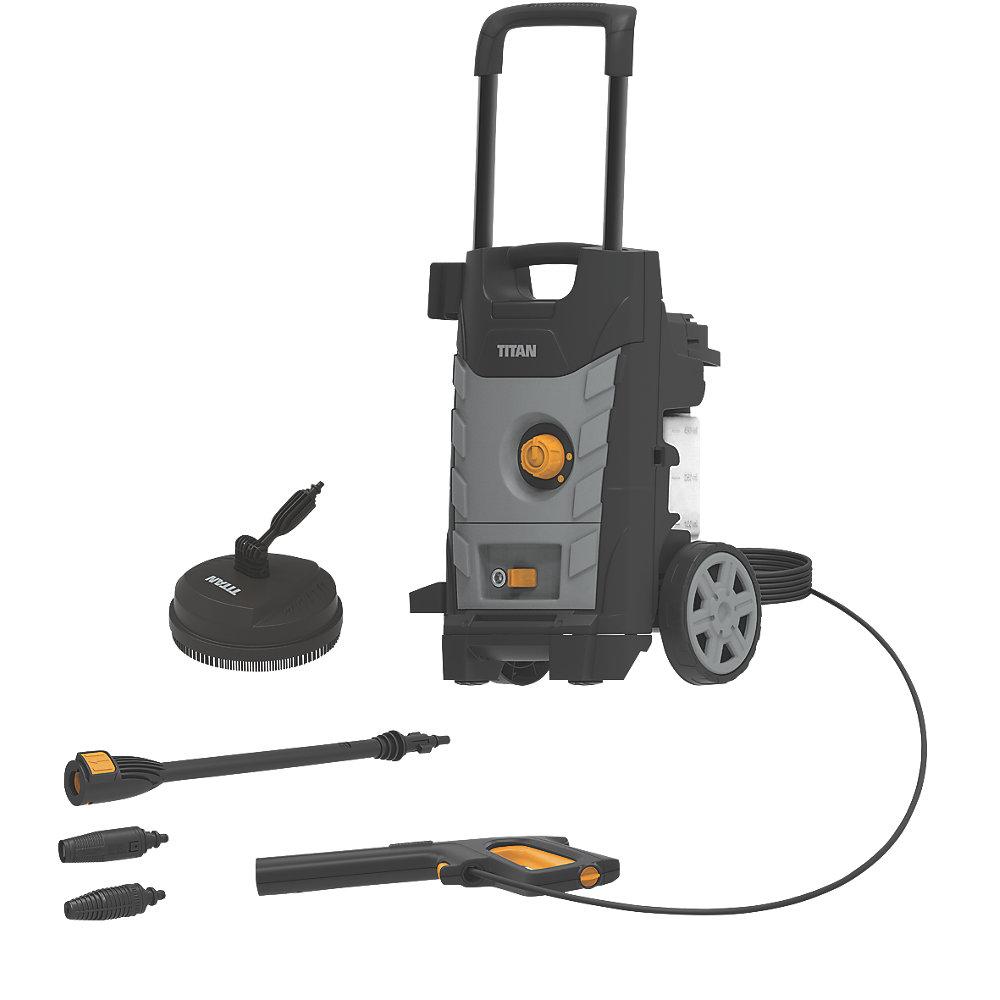 Titan TTB1800PRW 140bar Electric High Pressure Washer 1.8kW 230V £89.99 delivered at Screwfix