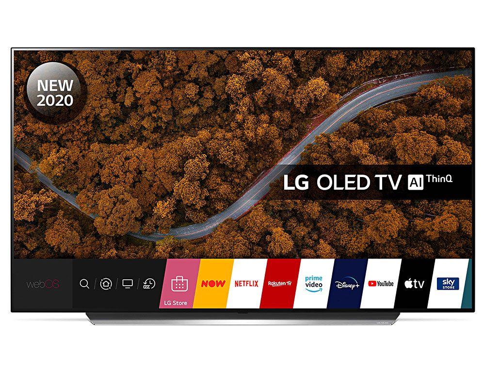 LG OLED55CX5LB (2020) OLED HDR 4K Ultra HD Smart TV, 55 inch Freeview HD/Freesat HD, Dolby Atmos Free 5 Yr Guarantee £1045 Crampton & Moore