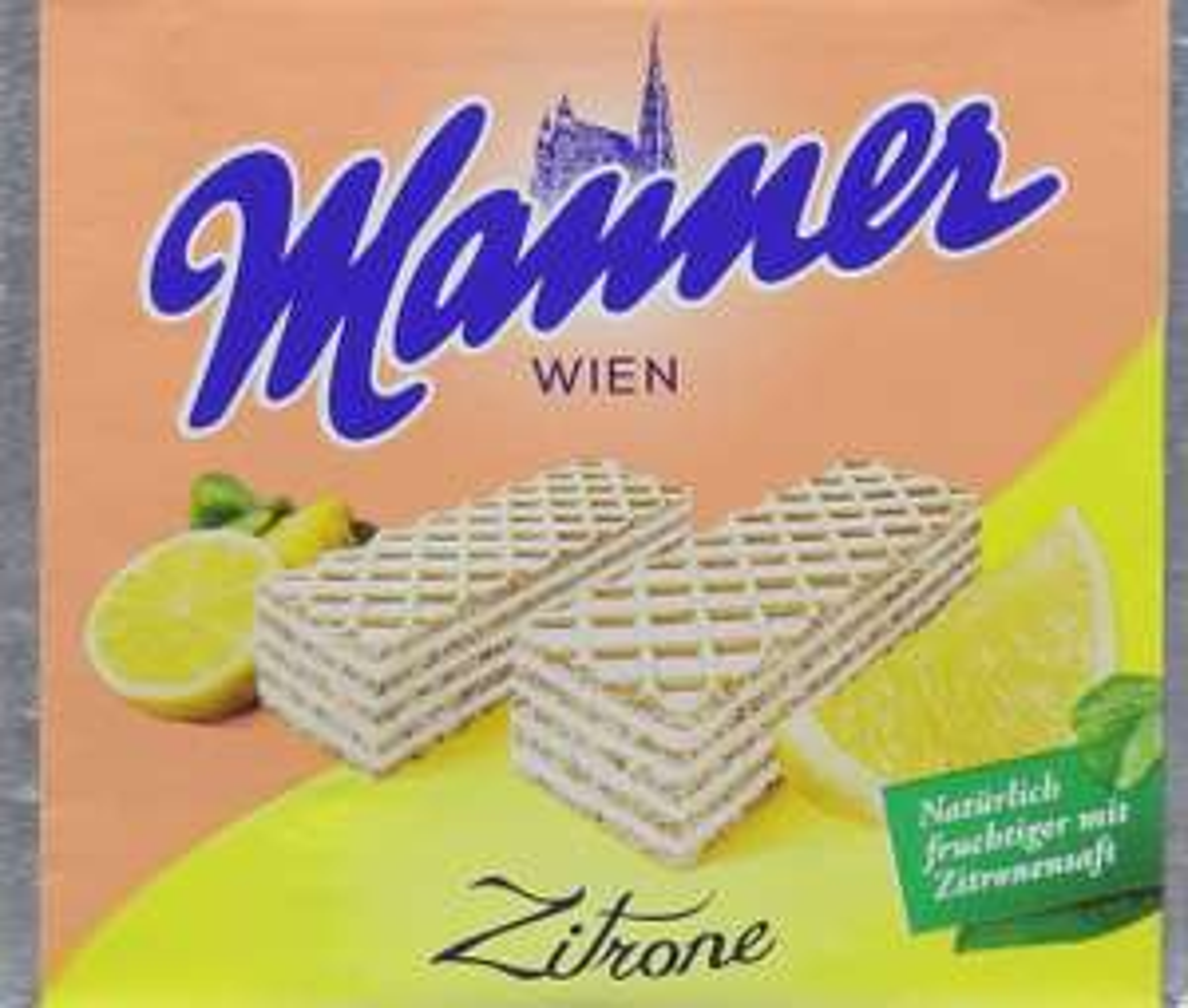 Manner Lemon Wafers75 g (Pack of 12) - £5.36 Prime / +£4.49 non Prime (£4.56/£5.09 S&S) @ Amazon