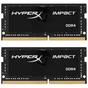 HyperX Impact 32GB 2x16GB 2933 MHz DDR4 SODIMM £164.99 @ Amazon